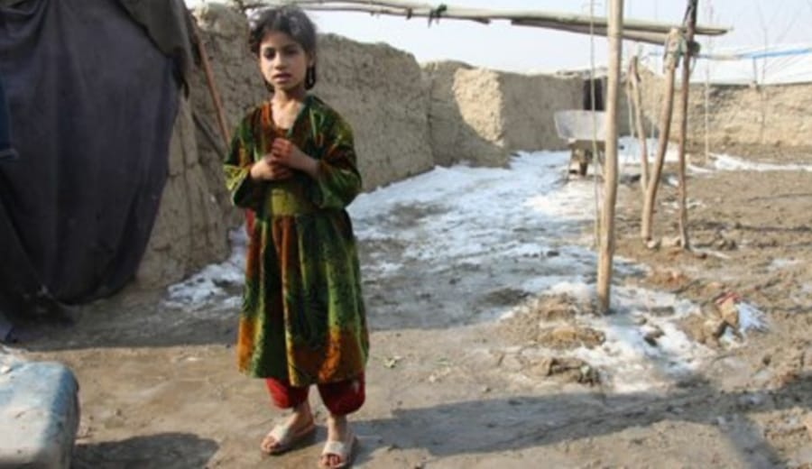 Naghma, the Afghan girl sold to be a child bride