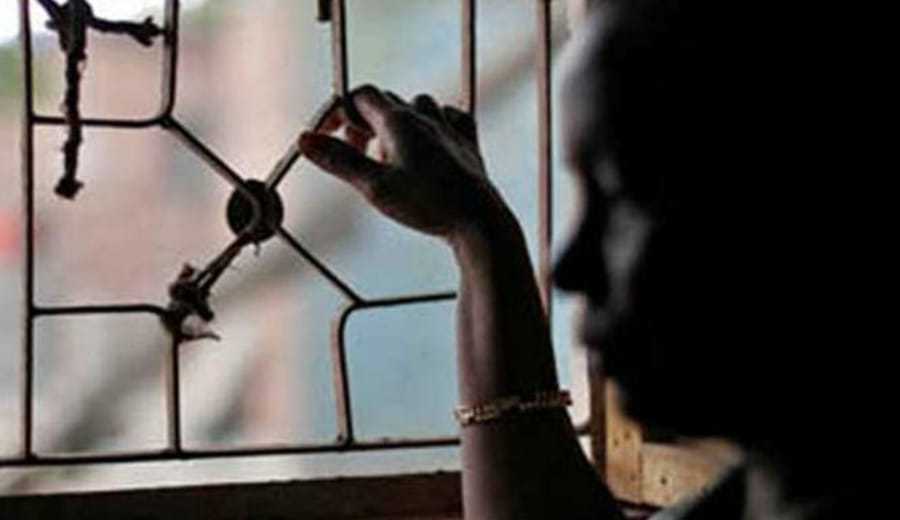 13-year-old maid locked in for 2 days