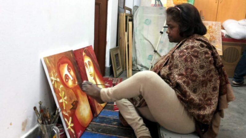 Meet the Foot artist, Sheela Sharma!