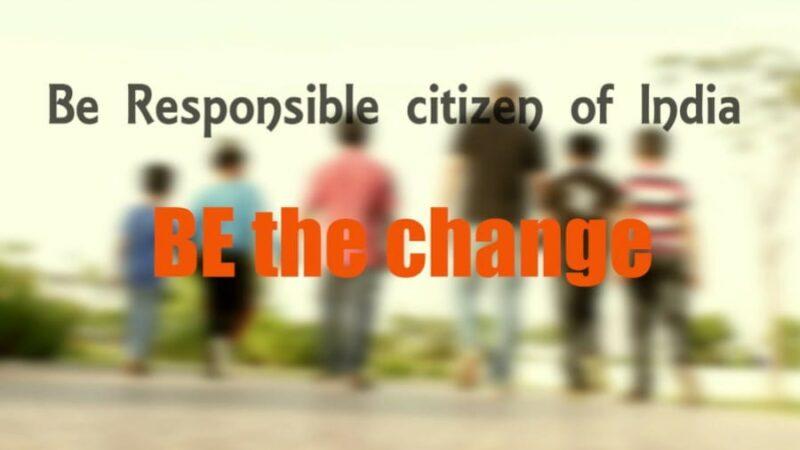 Be a Responsible Citizen