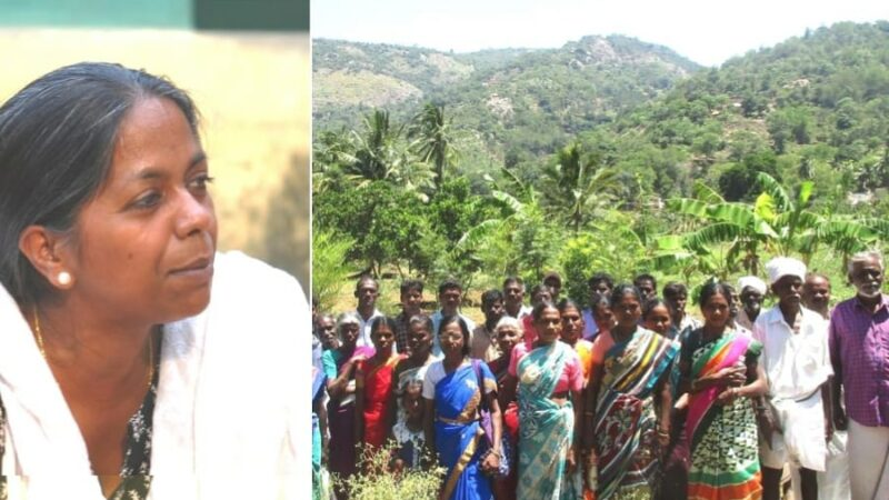 Recognised for her work among tribal people
