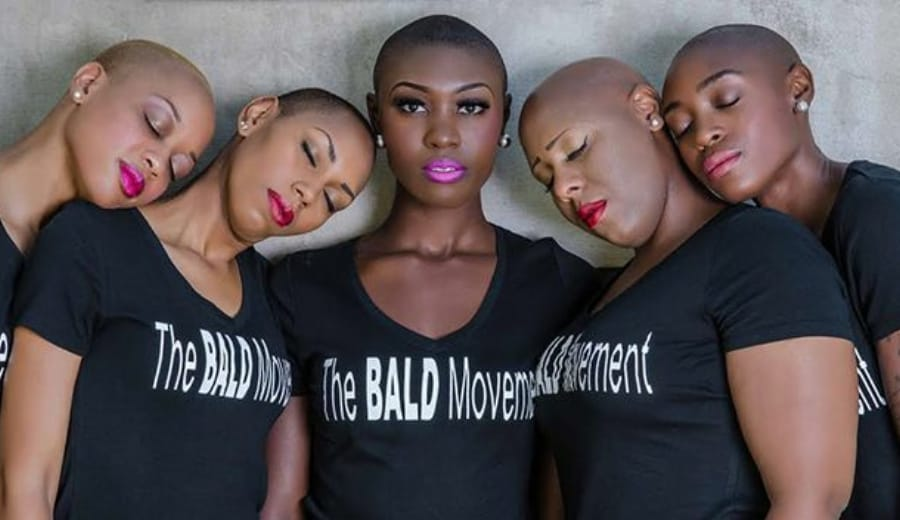 Who says Bald is not Beautiful?