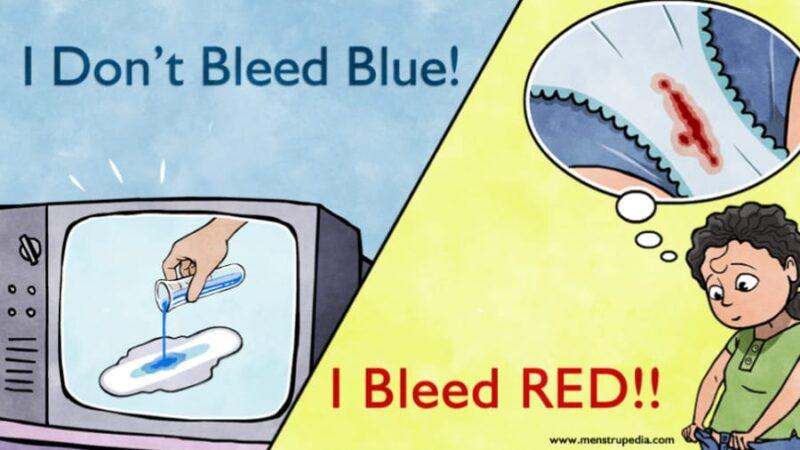 Women Don't Bleed Blue