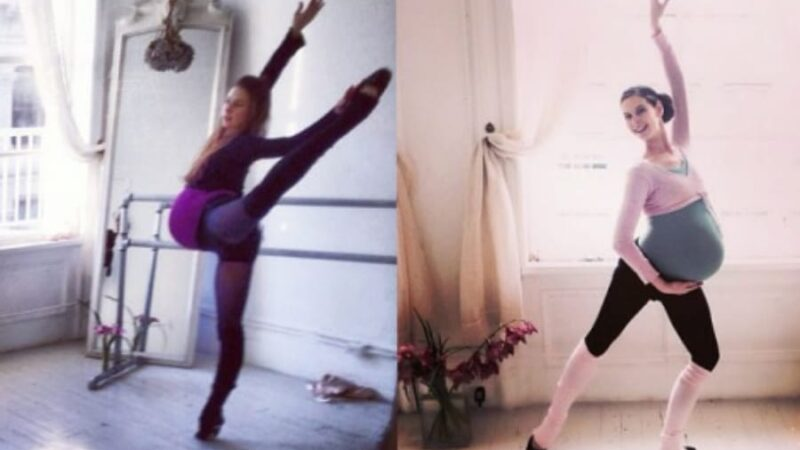 Celebrate your bodies like Pregnant Ballerina, Mary Helen Bowers!
