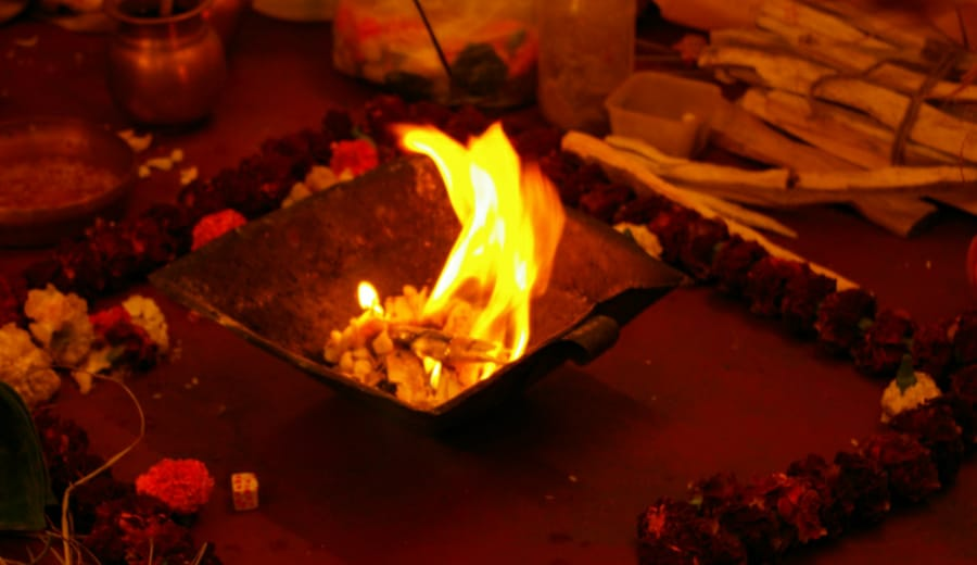 From Wedding Vows to the Pyre