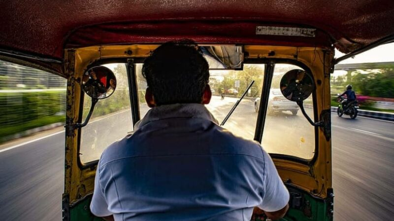 The Auto Driver terrified us!