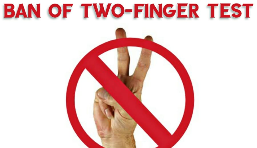 'Horrendous' two-finger test on rape victims banned