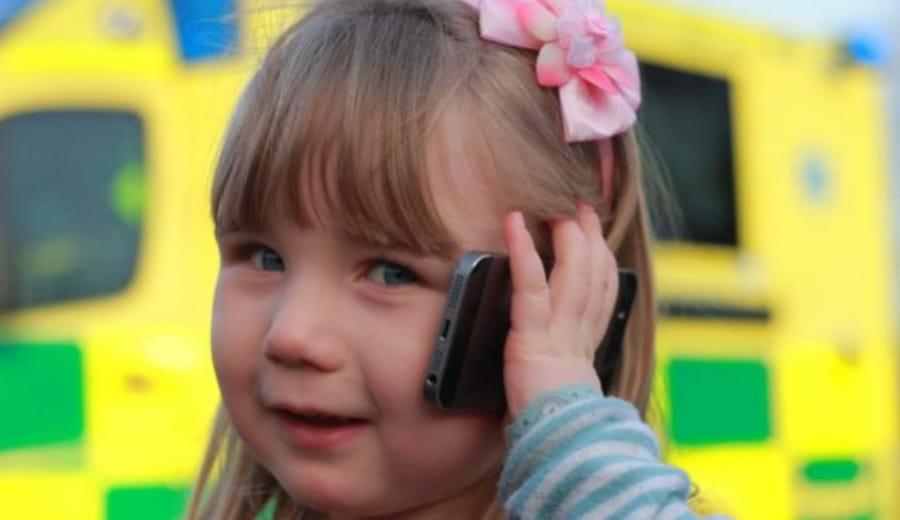 Brave Girl, 7, saves pregnant mum