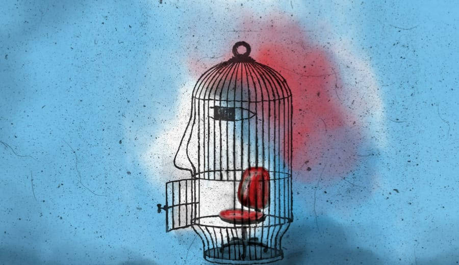 13 Year Old Rape Survivor Puts Herself In Cage!