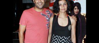 chetan bhagat with his wife anusha