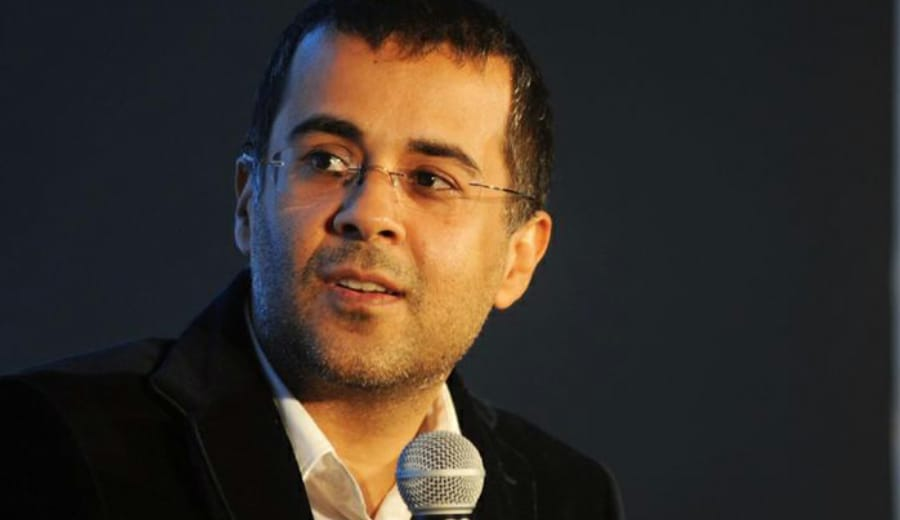 My WIFE does not make 'Phulkas' for me- Chetan Bhagat