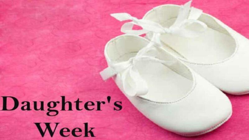 10 Ways to Celebrate Daughters' Week
