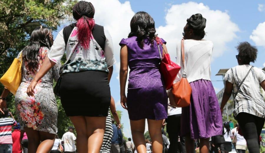 Why must 'WOMEN' dress appropriately?