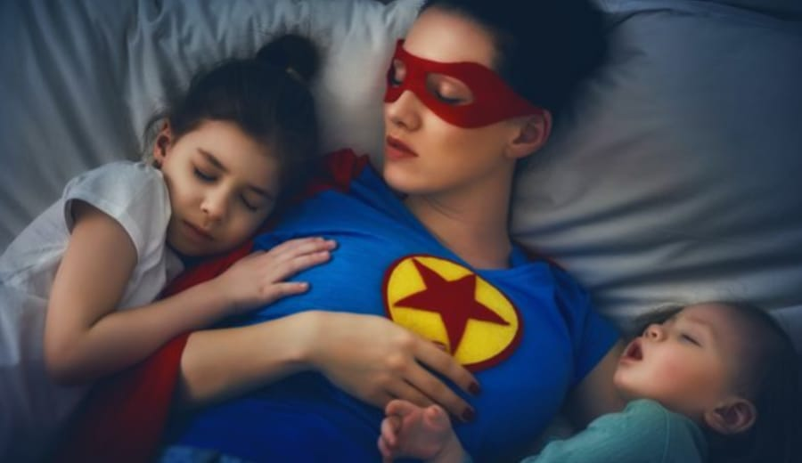 Mums are Super-Heroes!