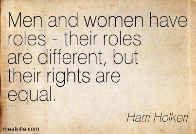 Women Men Respect Women