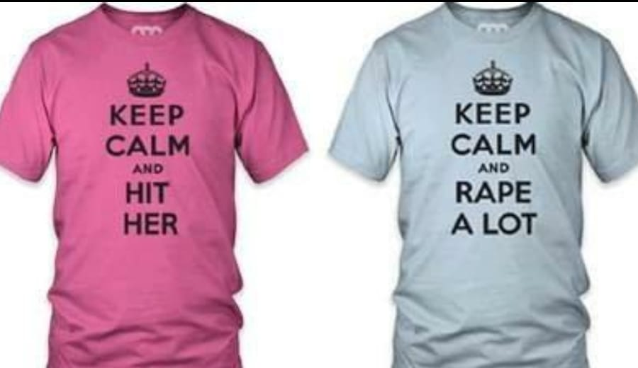 """""""Keep Calm And Rape A Lot""""- Amazon, Are you serious?"""