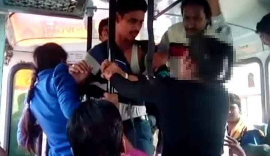 Watch: Rohtak sisters thrash men who harassed them on moving bus