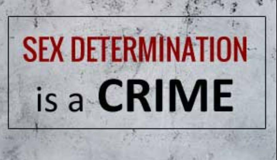 """Sex-Determination is illegal"""