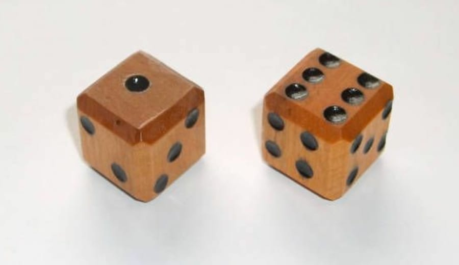 I don't come with dice, so don't play me!
