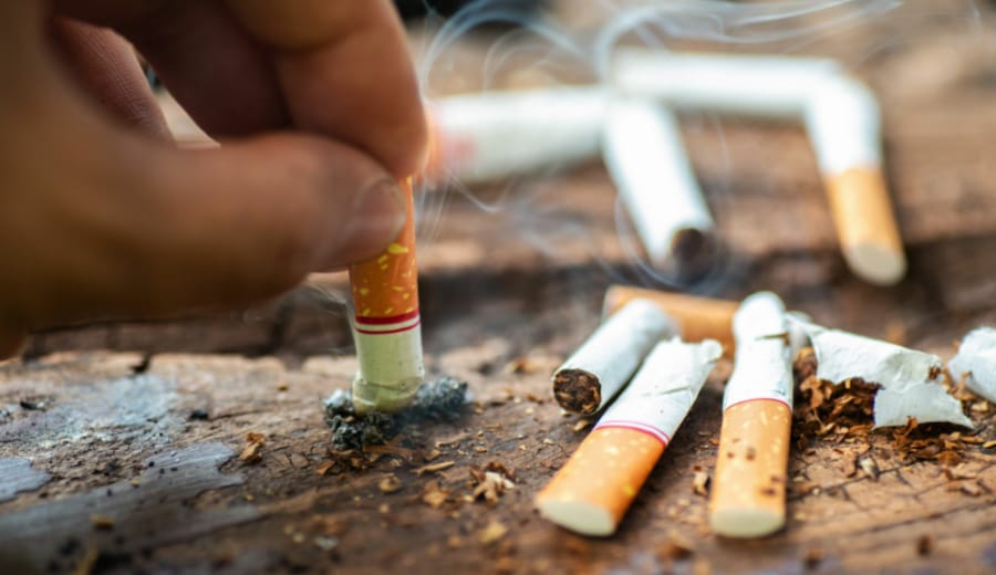SMOKING IS NOT INJURIOUS, IT'S LETHAL TO HEALTH