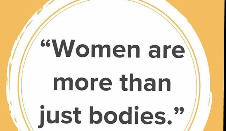 """'Women are more than just bodies"""""""