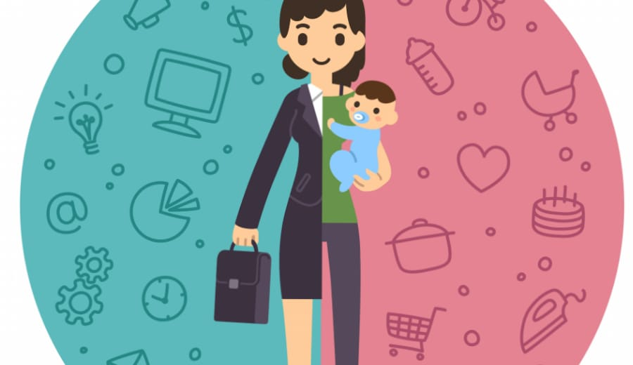 Absence of applicability of laws mandating paid maternal leave