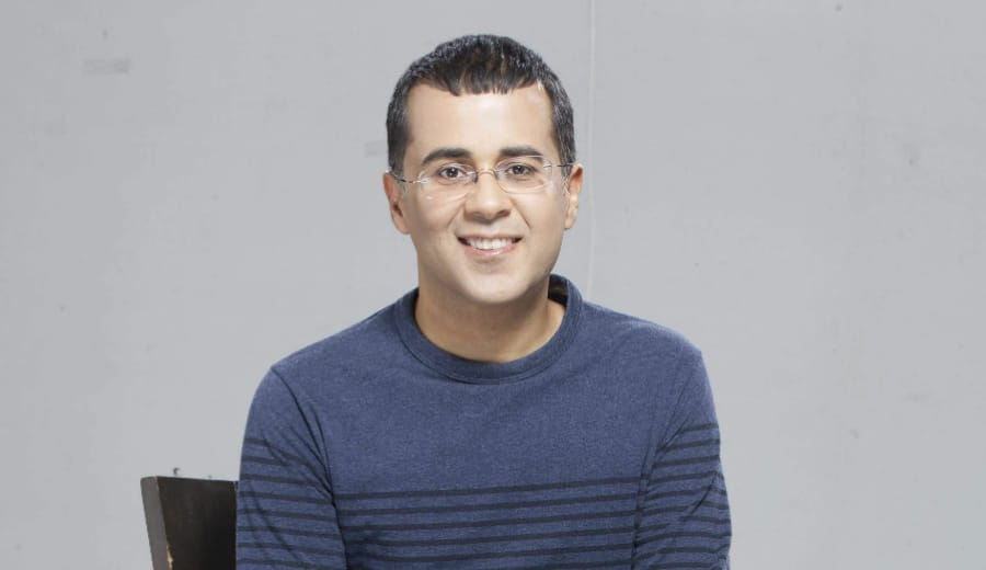 Chetan Bhagat, you won our hearts this time!