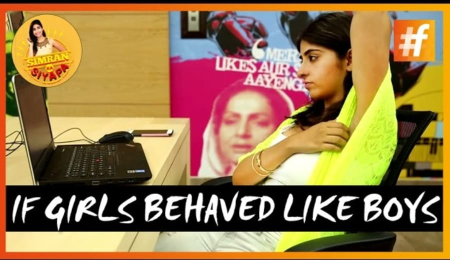 If Girls Behaved Like Boys, This Is What Would Happen!
