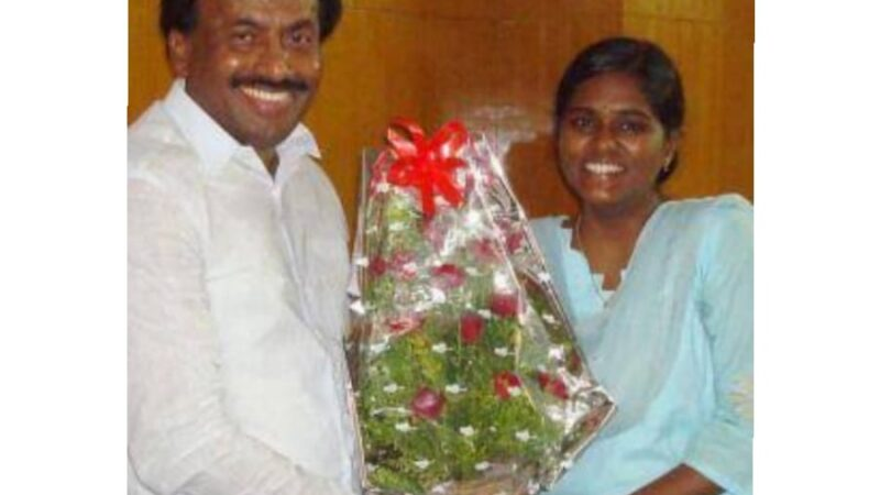 Salute to Lalitha Rajendran—Rank 12—Indian Administrative Services—2013