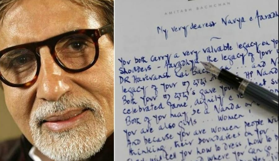 Amitabh Bachchan Writes A Heart-Warming Letter To His Granddaughters And It Is A Must Read For Every Girl!