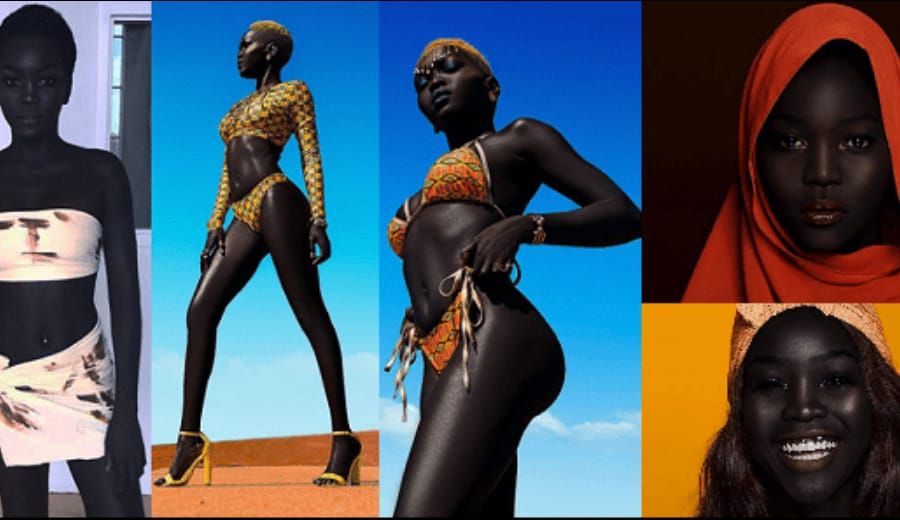 This South Sudanese Girl Of 24 Is Breaking Internet With Her Enchanting Black Beauty!