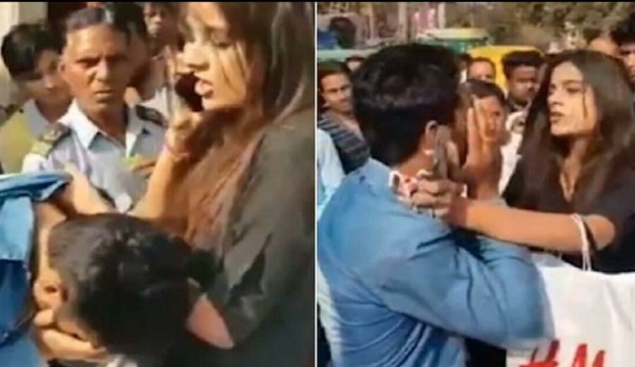 2 Young Men Chased Delhi Woman & Passed Comments. She Taught Them A Lesson For Life