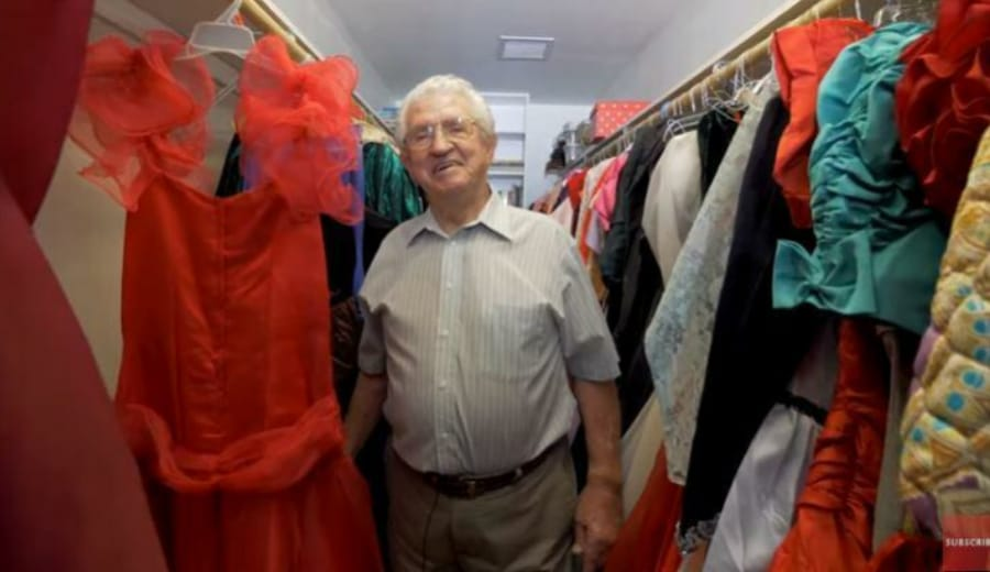 This Man Bought 55,000 Dresses For His Wife So She Never Has To Repeat An Outfit