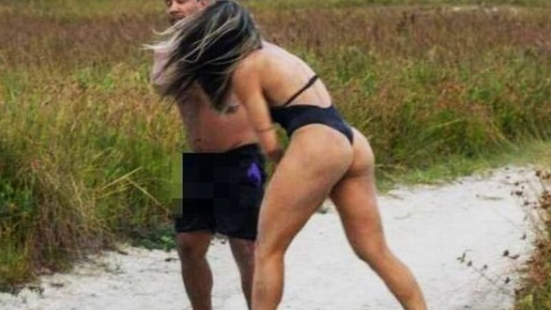 Woman MMA fighter kicks creepy man's ass for allegedly masturbating at her photoshoot