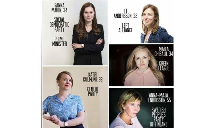 Finland's all-Female Coalition Government with the Youngest Prime Minister