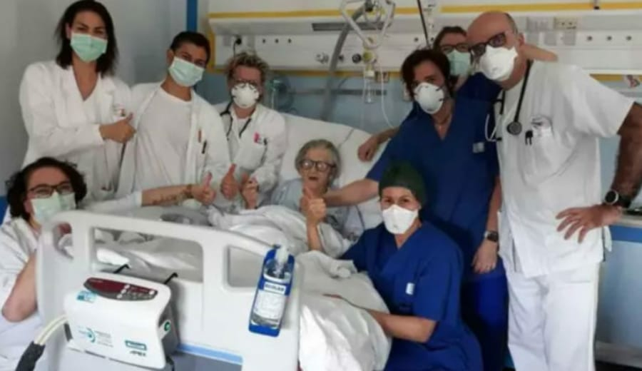 95-Year-Old Woman Is The Oldest Person To Recover From Coronavirus In Italy