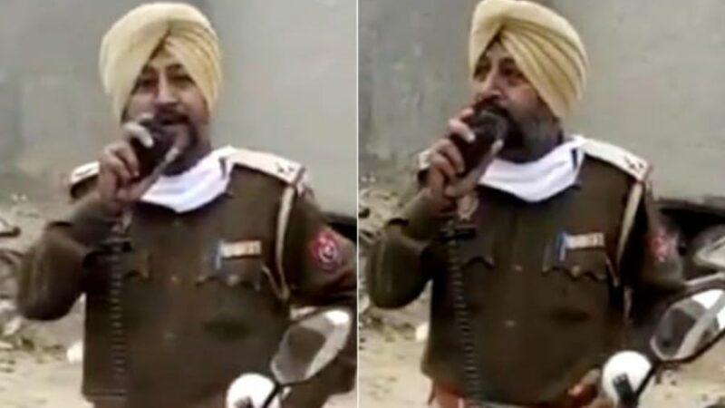 VIRAL: This Punjab Cop Tells Women To Put Men To 'Work At Home' During Lockdown